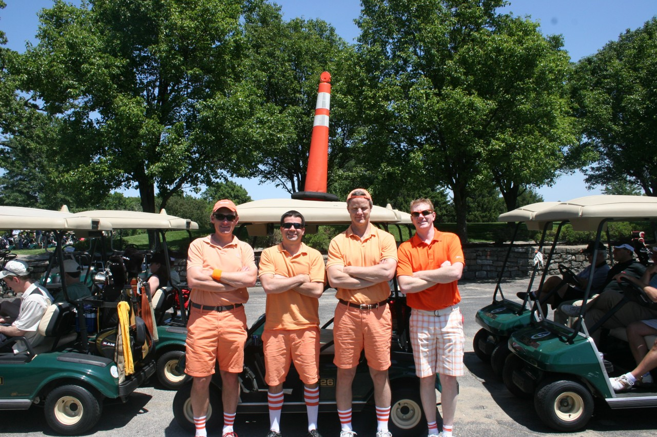 2012 Golf Team Cones